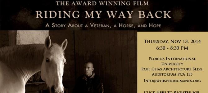 Film Screening – Riding My Way Back
