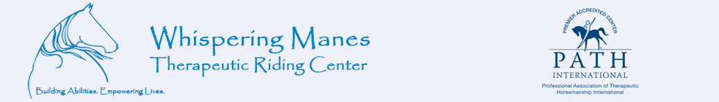 Whispering Manes Therapeutic Riding Center